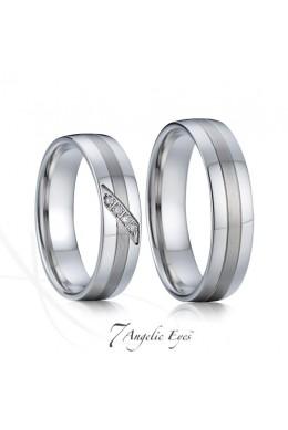 Snubní prsten 004 AG - Diana
