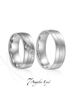 Snubní prsten 004 AU Diana vel. 55