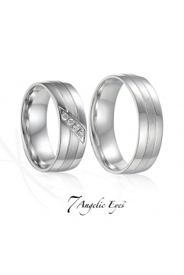 Snubní prsten 004 AU Diana vel. 51