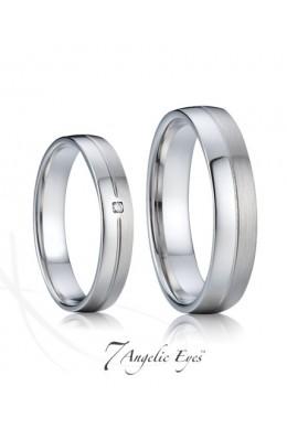 Snubní prsten 008 AG - Mařenka