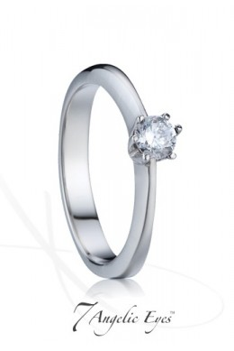 Zásnubní prsten 013 - Popelka