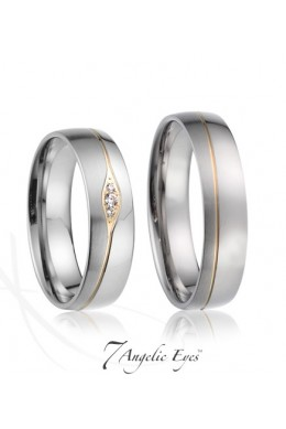 Snubní prsten 019 - Paris