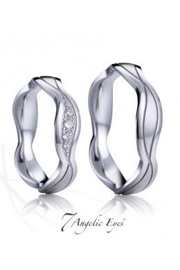 Snubní prsten 030 AG - Dante