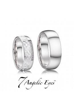 Snubní prsten 038 AG - Meghan
