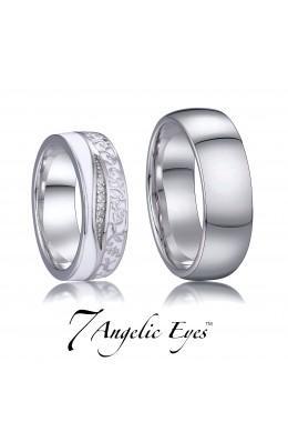 Snubní prsten 039 AG - Hermiona